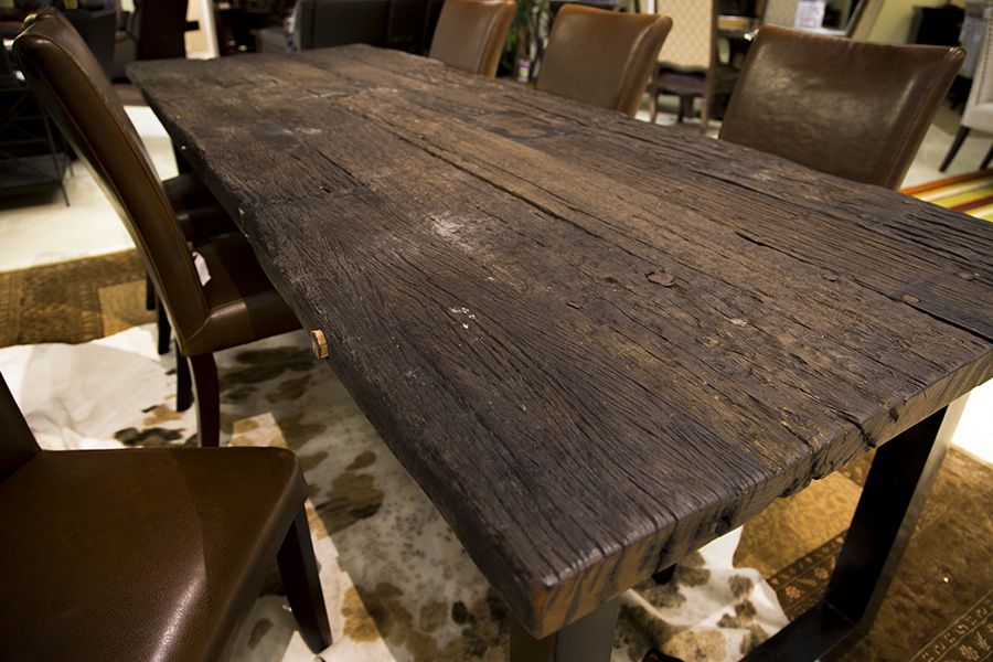 Pin By Gallery Furniture On Reclaimed Wood Dining Wood Dining Room Furniture Solid Wood Dining Room