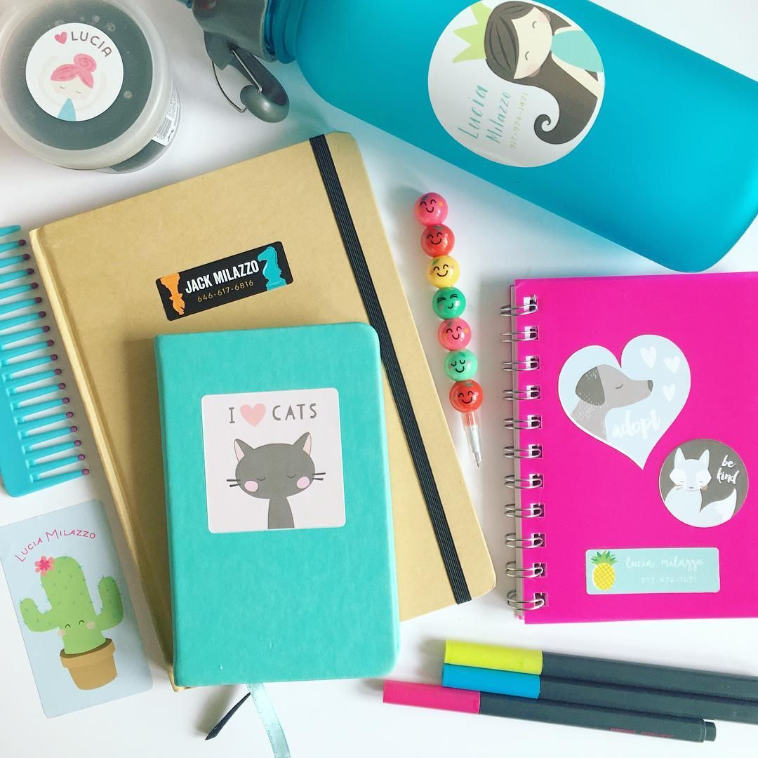 make your notebooks unique with cute back to school supplies from