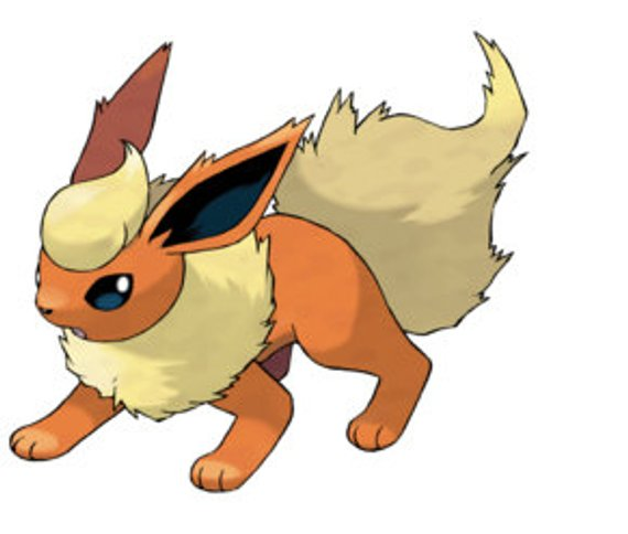 Pokemon Flareon Sticker Products Pokémon Pokemon Firered