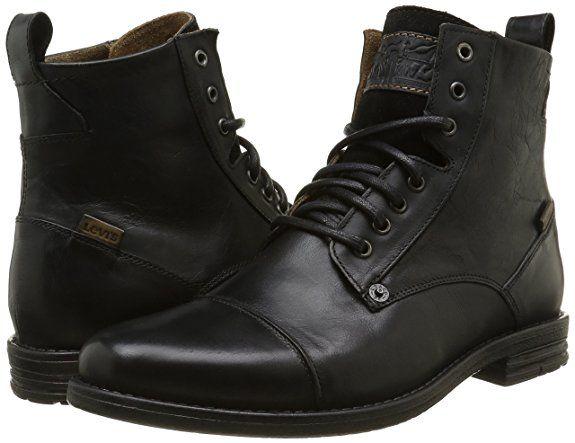 43b38eece1 Levi's Emerson, Bottines Classiques Homme: Amazon.fr: Chaussures et Sacs  Combat Boots