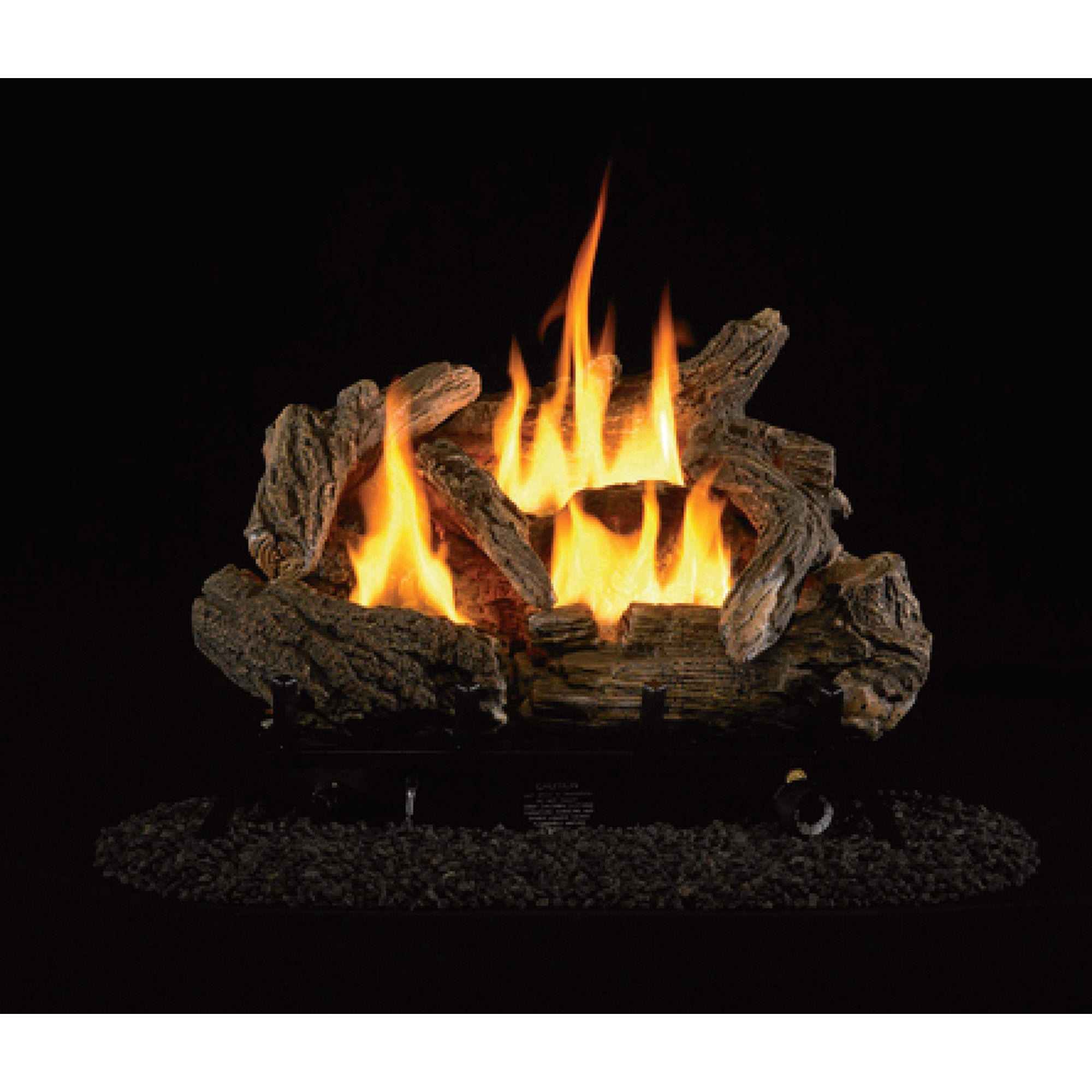 with this procom dual fuel vent free log set you can enjoy the look