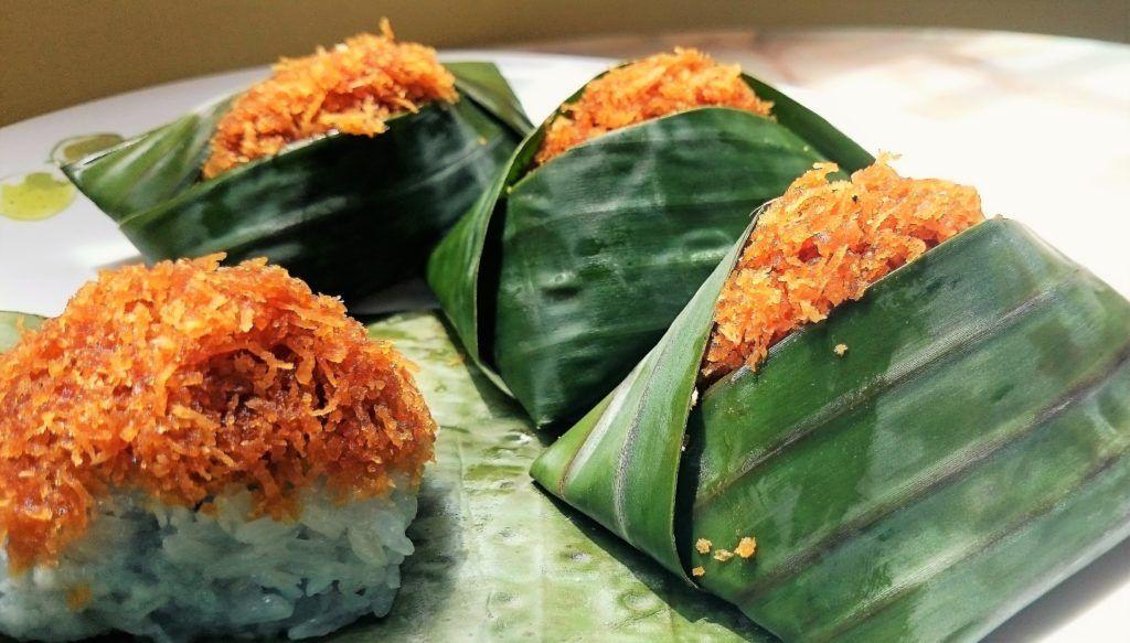 Pulut Inti Recipe Nyonya Food Food Recipes Asian Cake