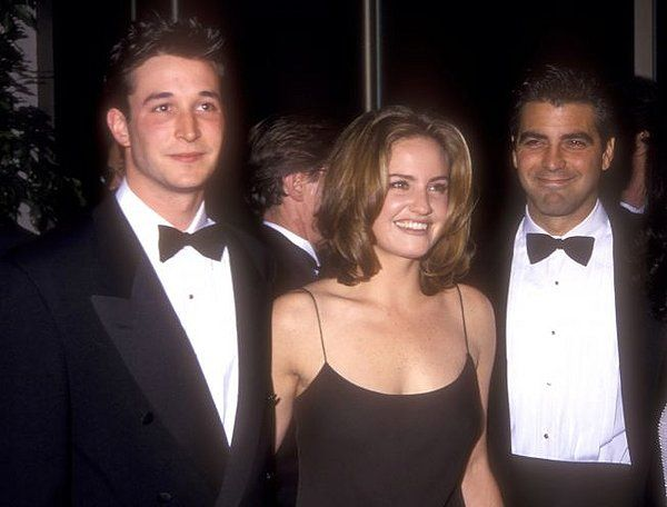 George Clooney Sherry Stringfield and Noah Wyle | ER