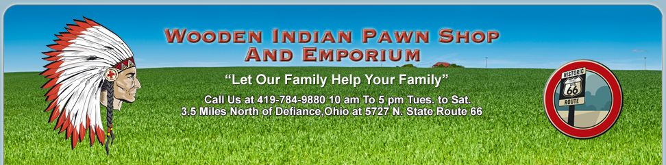Wooden Indian Pawn Shop Looking Forward To My Appearance There On