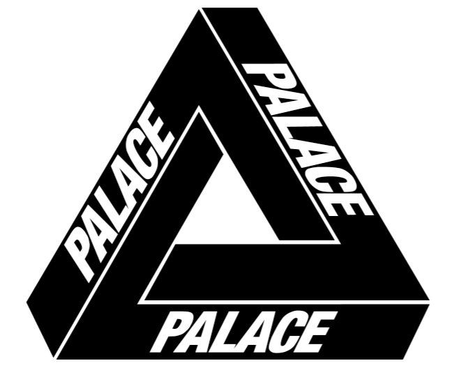 9589bdbb2258 Palace skateboards logo  geometric