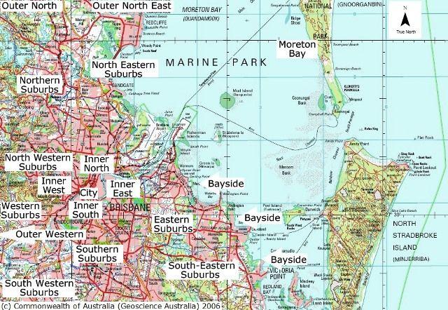 South Eastern Australia Map.Brisbane Map Sydney Brisbane Map Brisbane Australia Living