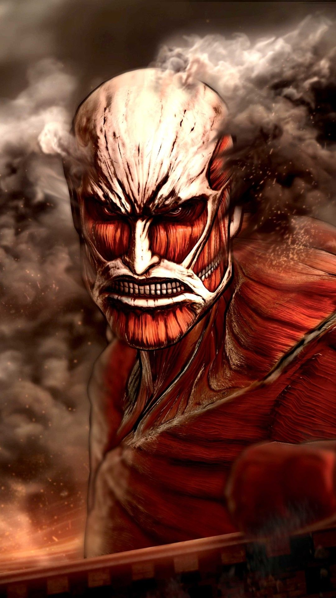 1080x1920 Wallpaper 643452 Attack on titan anime, Attack
