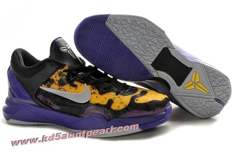 FX0TVG9F  Nike Zoom Kobe 7(VII) Poison Dart Frog Lakers