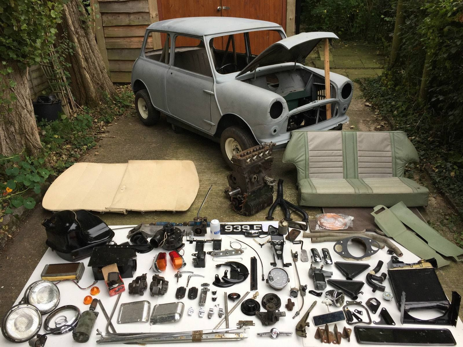 1962 997 Cooper ready for rebuild , and your time starts now