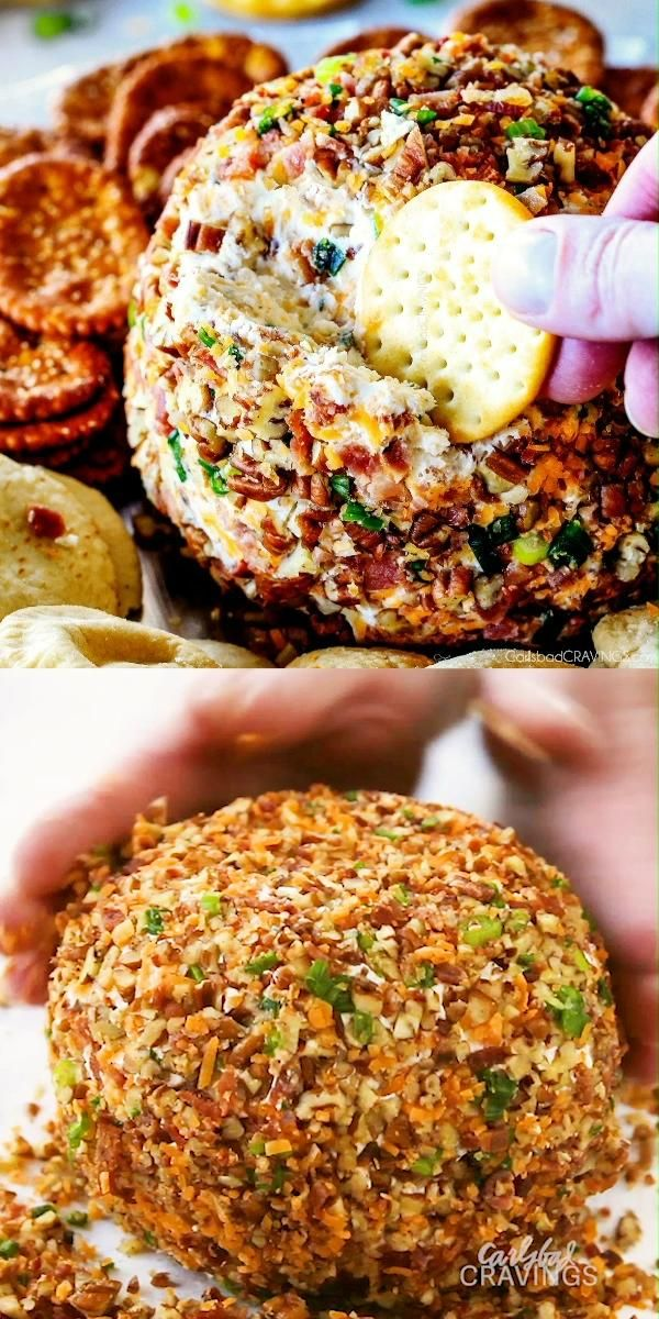 Bacon Ranch Cheese Ball