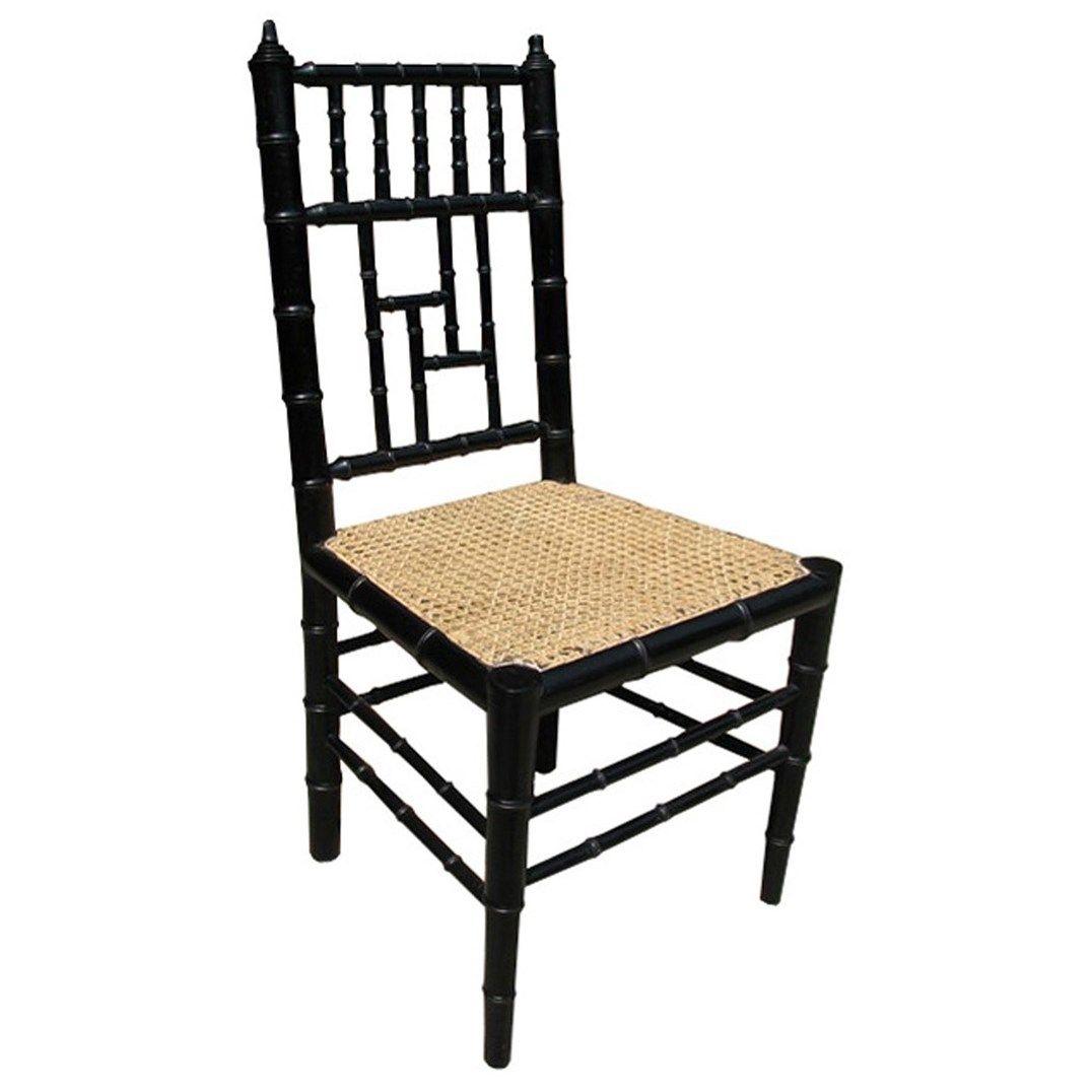 Merveilleux Noir Hollywood Chair Hand Rubbed Black