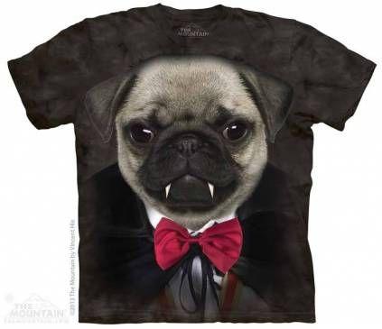 The Mountain-Shirts HundeMops - Vampire Pug