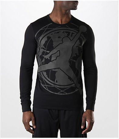 394c12d52aa8 Jordan Men s Air Toronto Long-Sleeve T-Shirt