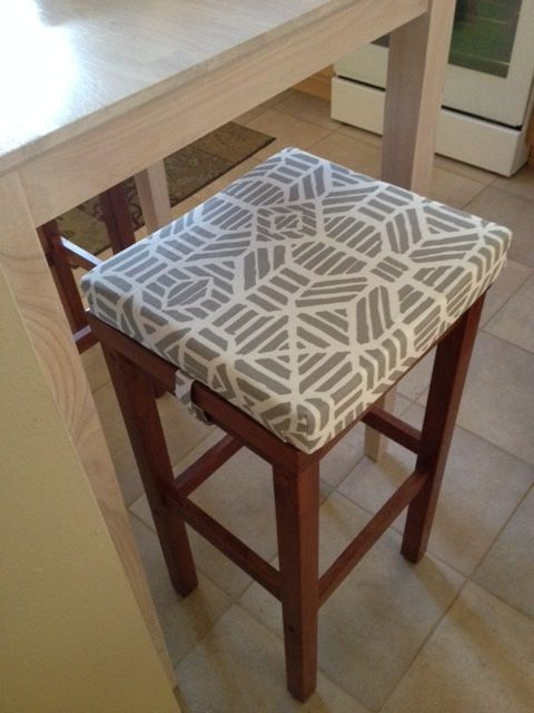 These Barstool Covers I Created For A Client Has Discrete Velcro Straps At The Sides To Keep Them In Place Bar Stool Covers Stool Covers Bar Stools