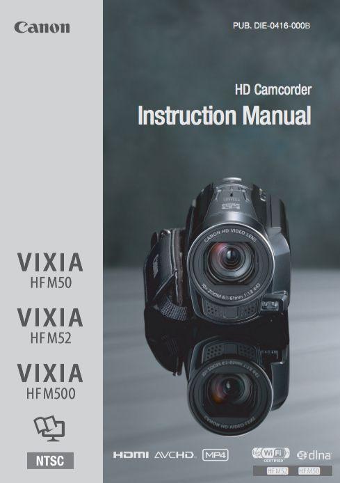 canon vixia hfr52 manual photo video pinterest rh pinterest com Canon VIXIA HF M30 Canon VIXIA HF R800