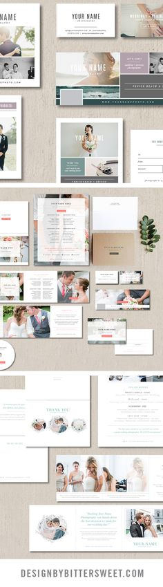 Photography templates for photographers Customizable branding and