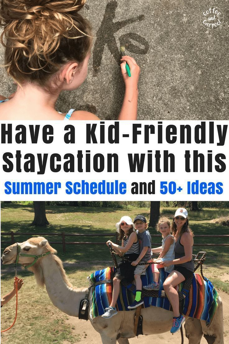 How to Have a Kid-Friendly Staycation with this Summer Schedule #summerschedule How to Have a Kid-Friendly Staycation with this Summer Schedule #summerfun #summervacation #summerschedule