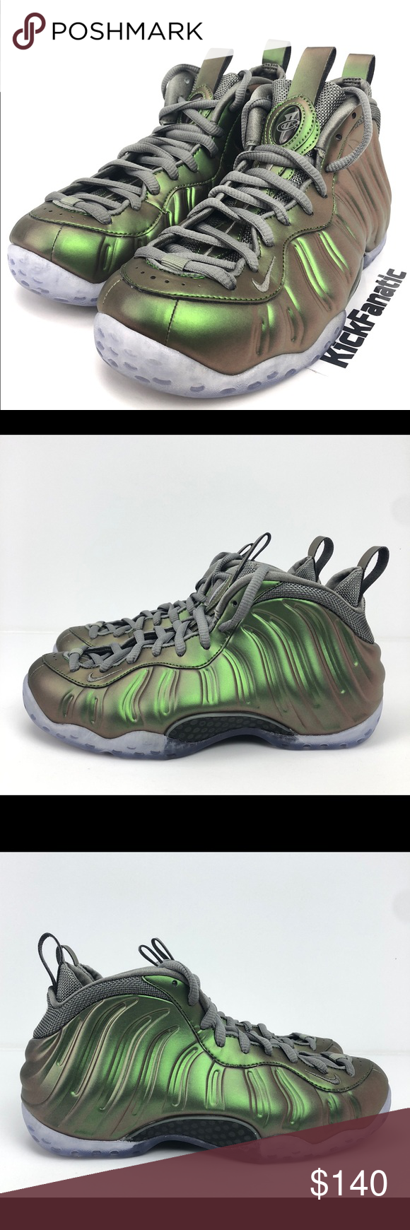 Nike Air Foamposite One Shine? Dark StuccoBlack Latest ...