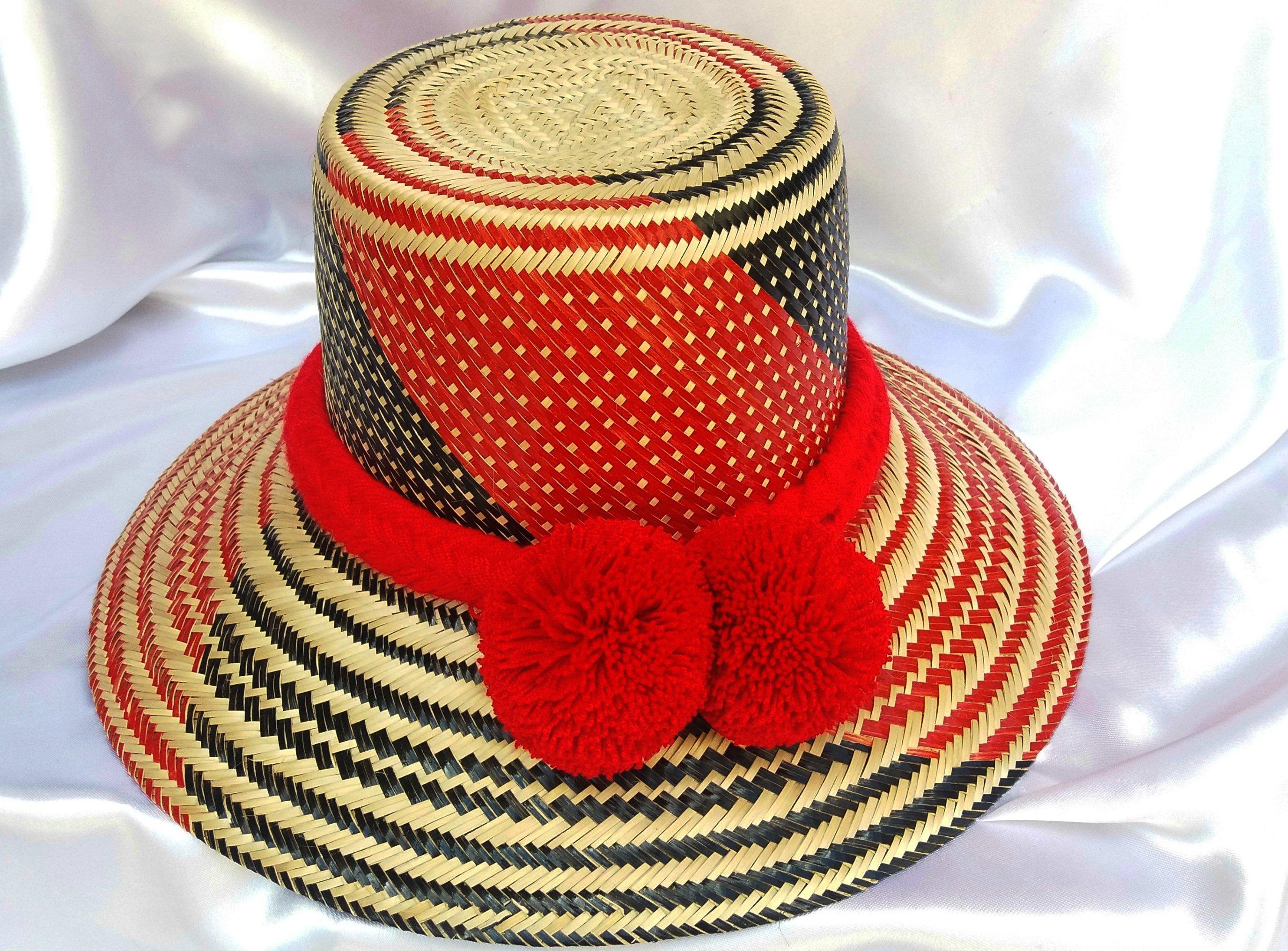 Sombrero Wayuu con cinturòn