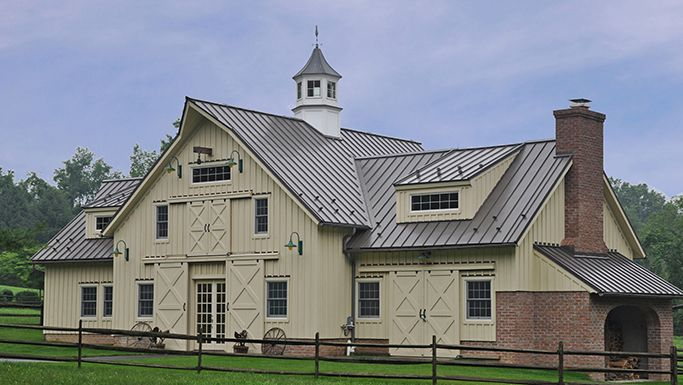 Best Barn Using 1 1 2 Ssr In Antique Bronze House Styles 400 x 300