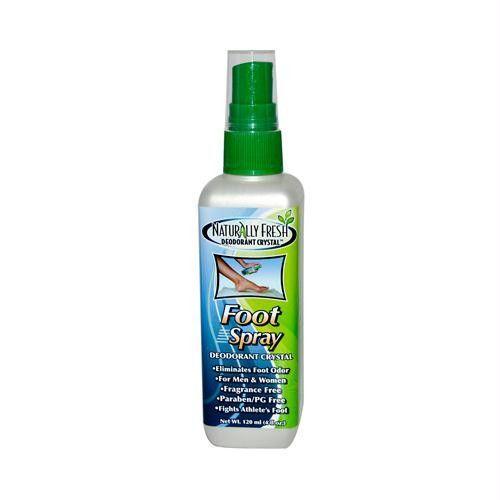 Naturally Fresh Foot Spray Deodorant Crystal - 4 fl oz