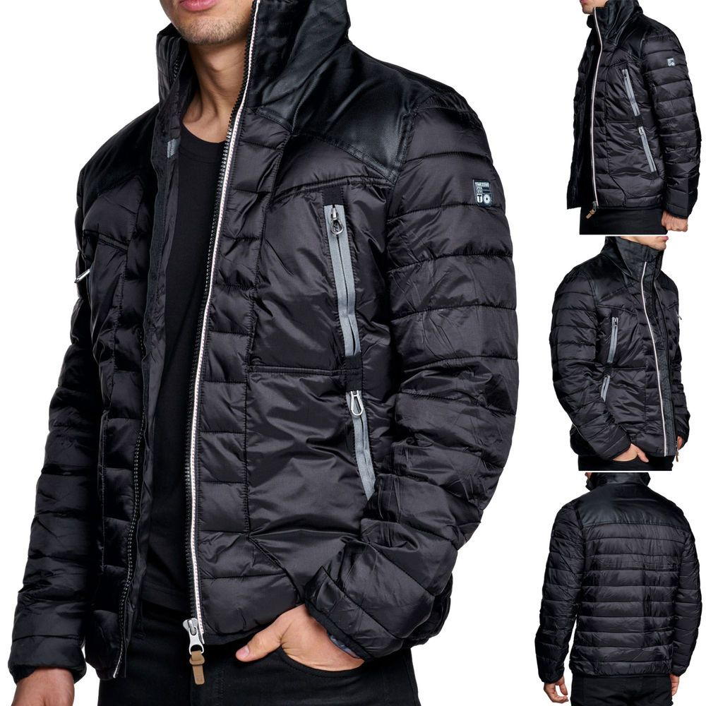 Jacke Herren Timezone Steppjacke Winterjacke Mantel Bomberjacke Winter Parka Winter Parka Parka Men S Coats And Jackets
