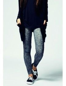Leggins denim Urban Classic - darkgrey