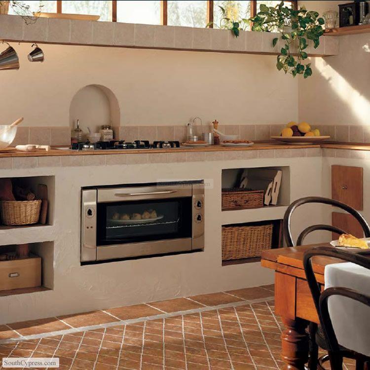 Pietra D'Assisi Cocina campestre, Cocinas, Mobiliario de