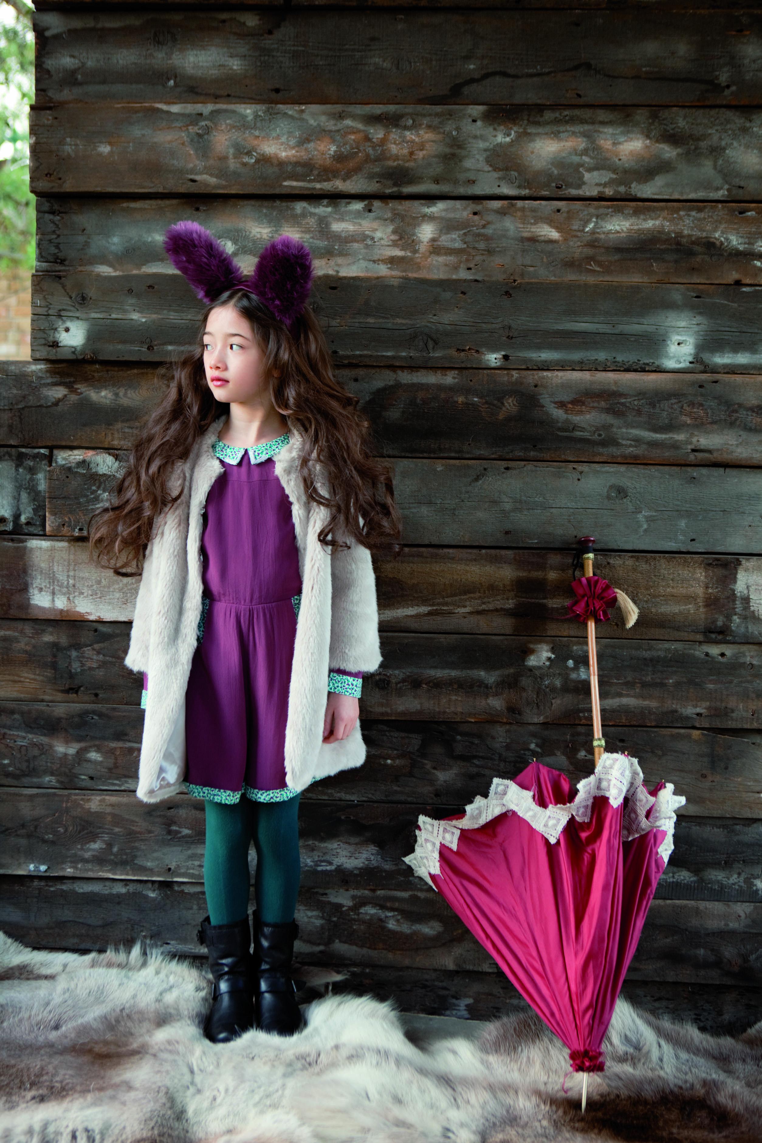 @ilvoegorgeous Leli Coat & Jessie Playsuit - Aubergine #AW14