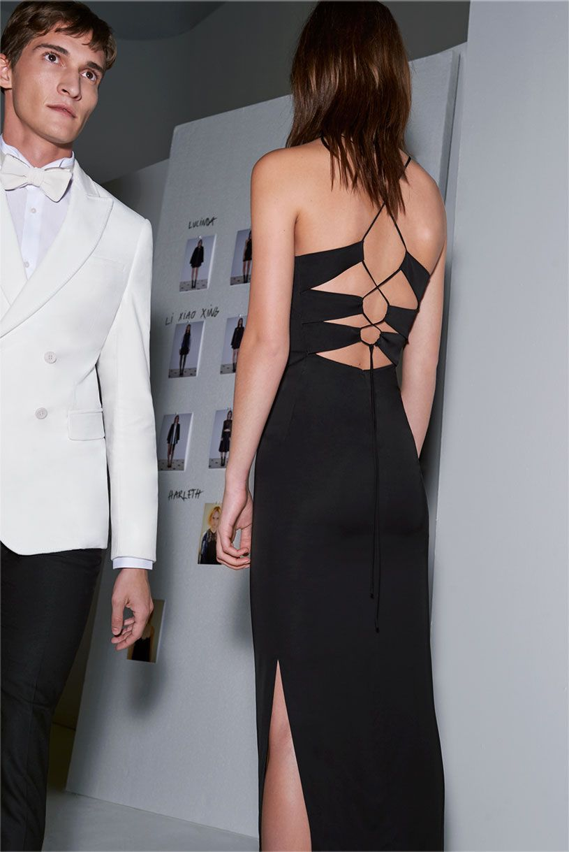ZARA - #zaraeditorials - EVENING  WOMAN & MAN  Vestidos de