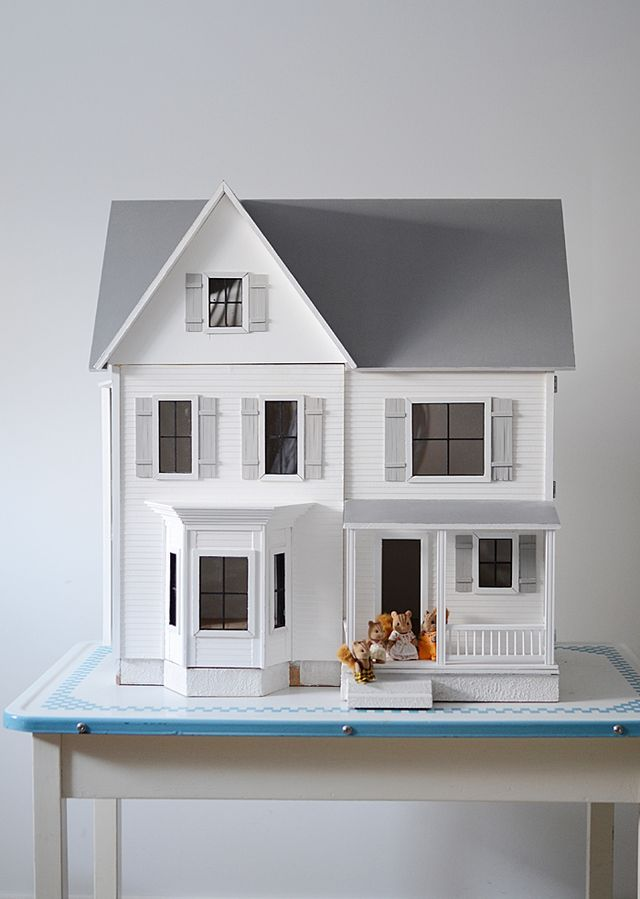 Little Modern Farmhouse Kitchen Plans Nalle S House Modern Dollhouse Doll House Plans Dolls House Interiors