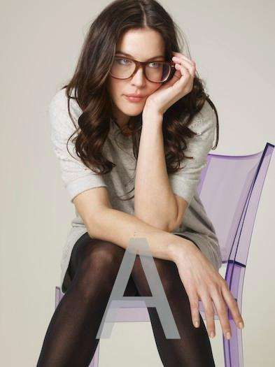 72fbe39f97 Davis Vision - Liv Tyler glams up her casual outfit with oversized frames.   eyeglasses
