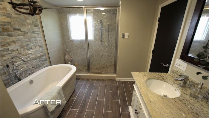 Stephanie And David Bathroom From Property Brothers