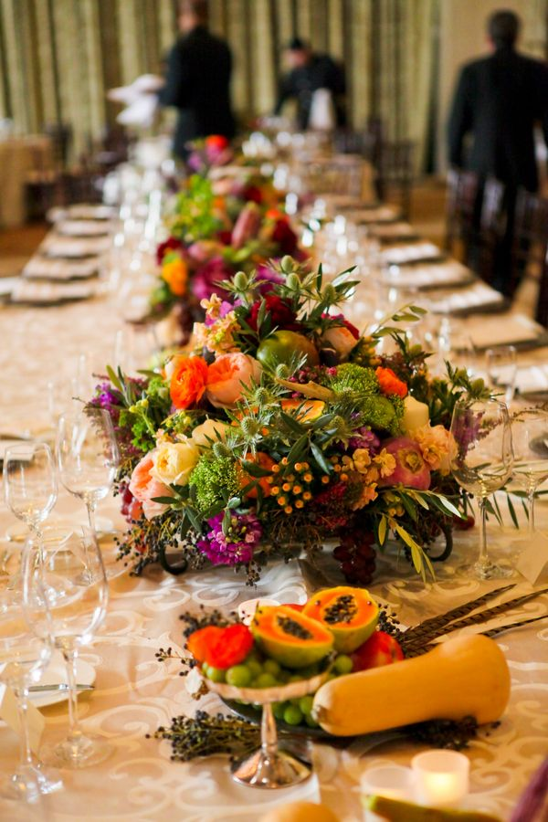 Fruits And Vegetables As Wedding Centerpieces Wedding Pinterest