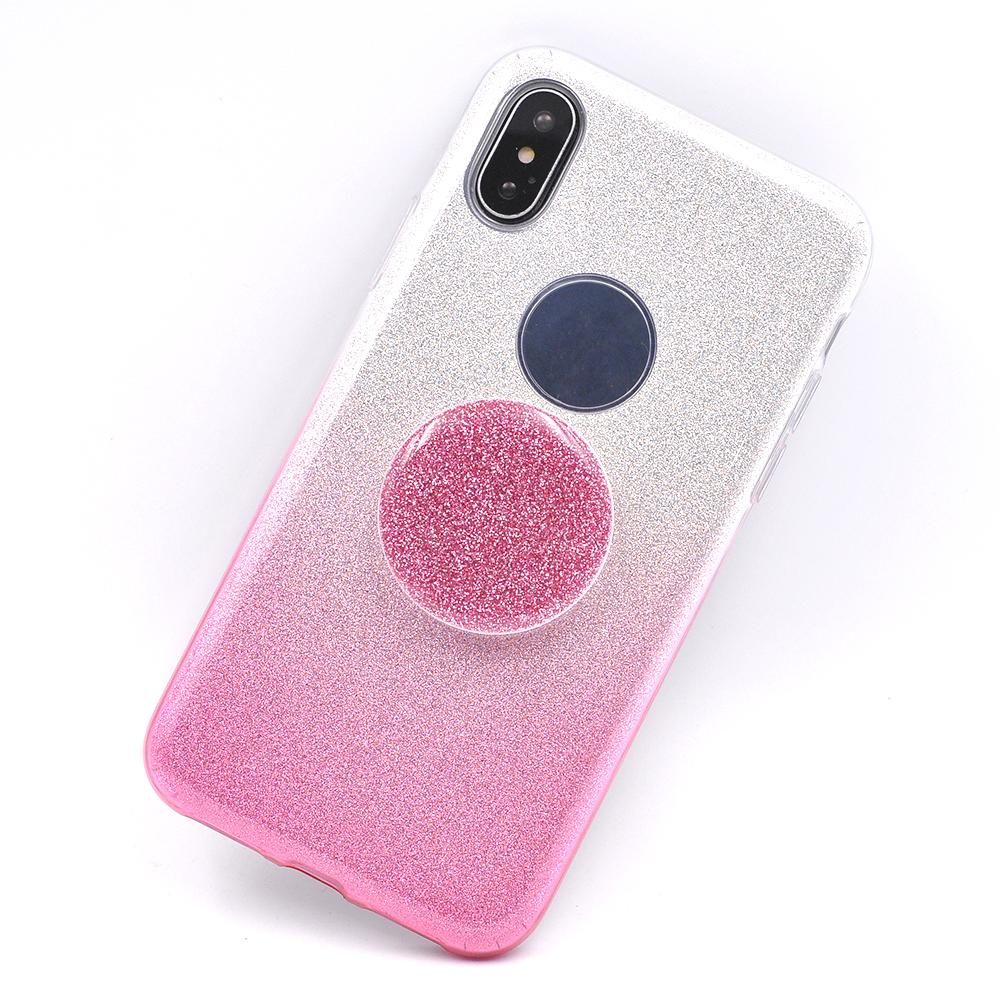 Diy Luxury Hybrid Glitter Phone Case Pop Telescopic Finger Stand Ultrathin Iphoria Shining Xioami Redmi 4 Prime Silver Holder 2 In 1 Cover For Iphone X Holders Stands