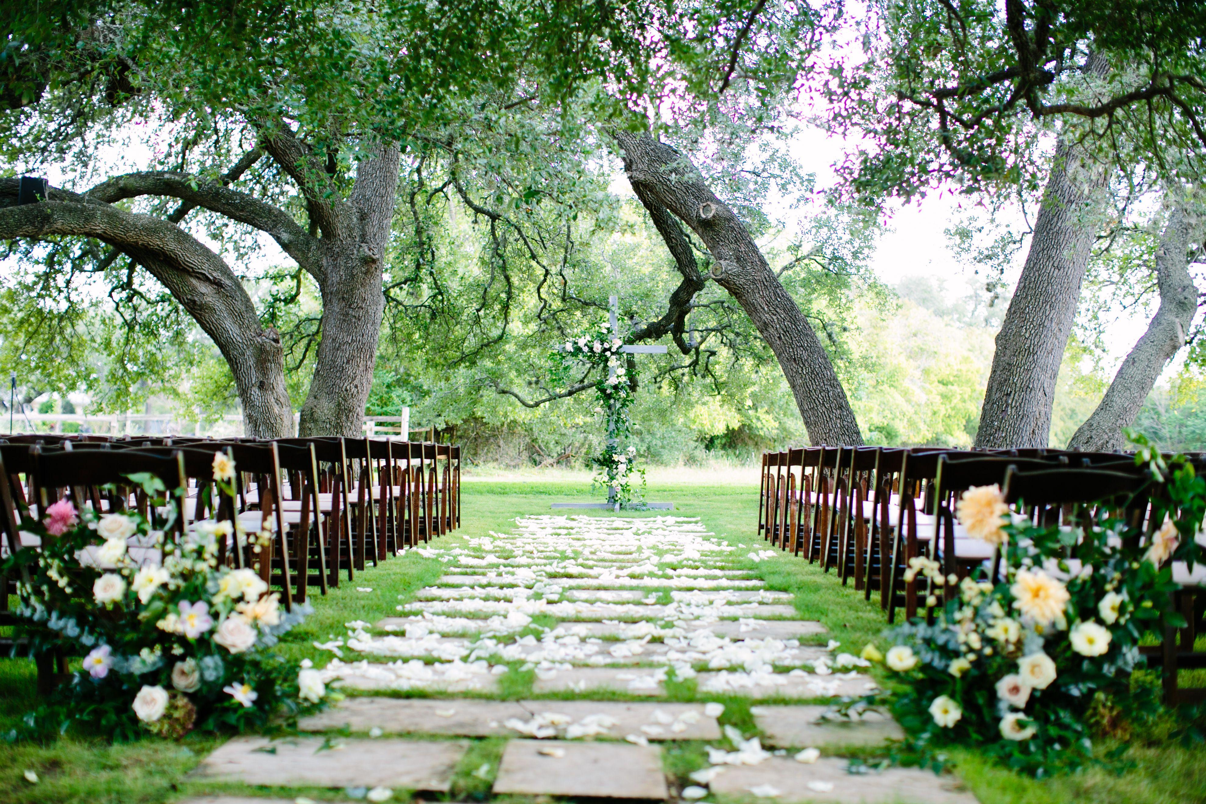 Romantic Wedding Venue Austin, Texas Romantic wedding