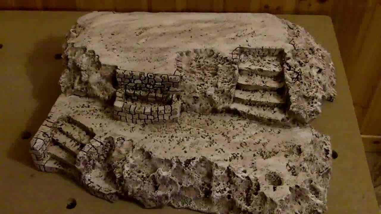 Faire Un Bassin Exterieur faire des faux rochers | creche de noel, village de noel, noel