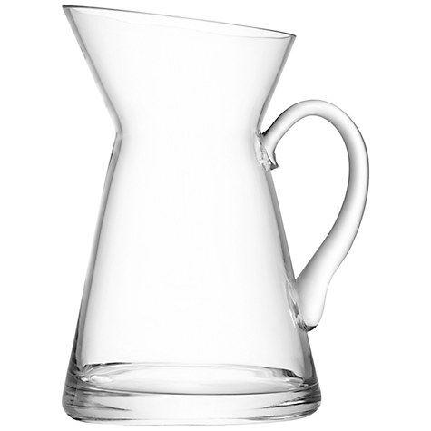 Lsa International Flower Jug Glass Vase John Lewis Glass And Ranges