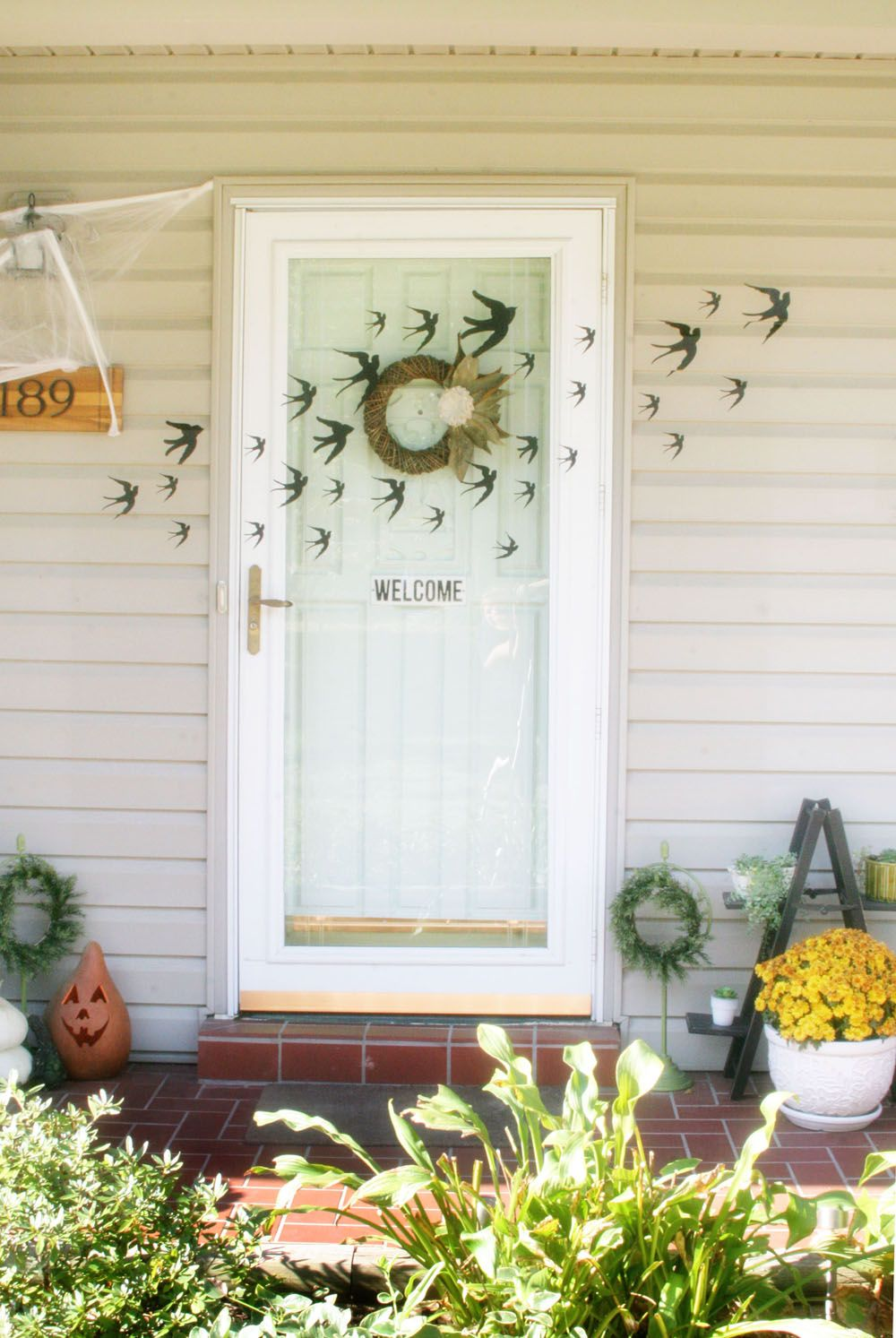 Spooky Halloween Decorations for Kids Spooky halloween decorations - Front Door Halloween Decorations