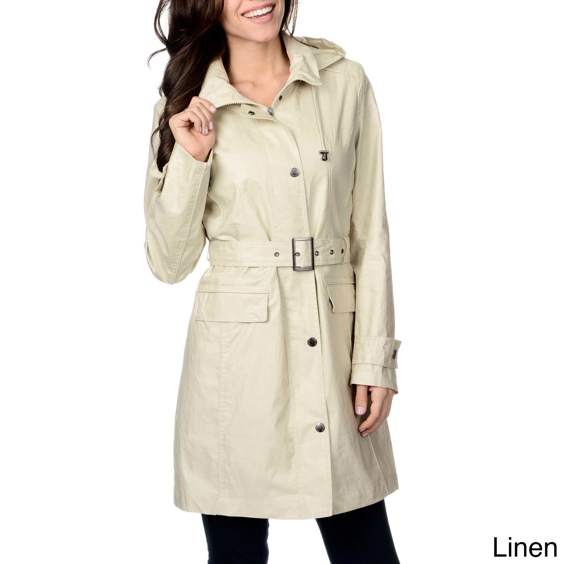 1cde3f48e Layer up in this cute short coat from Nuage, made with a detachable ...