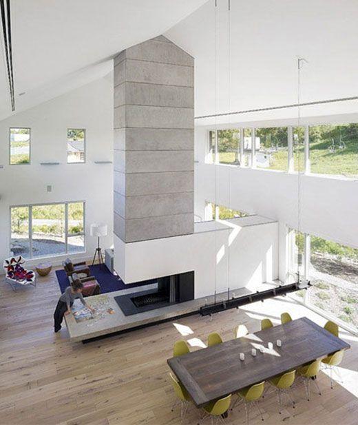 Modern and sophisticated chalet - zaINTERIORAnet Living rooms - raumausstattung ideen