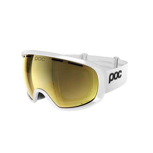 17e0a69ed20 Poc Fovea Clarity Ski Goggle in Hydrogen White With Spe Gold https   www