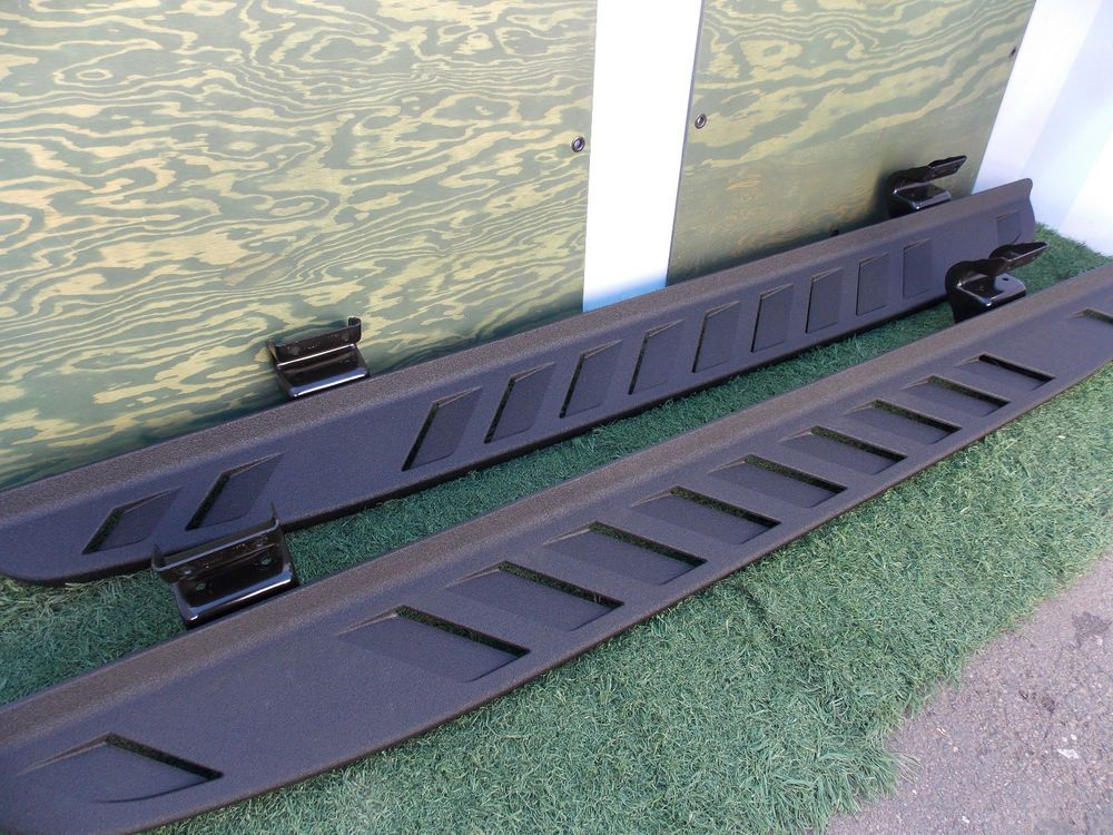 Ford Svt Raptor Running Boards Factory Oem Original Crew Cab Side Steps In Ebay Motors Parts Accessories Car Truck Parts Ebay