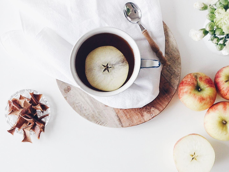 Auf der Mammilade|n-Seite des Lebens | Personal Lifestyle Blog | Einblicke ins Familienleben | 12von12 | Dekoration | Herbst | Äpfel Ideen Rezepte | Apfeltee selbstgemacht Rezept