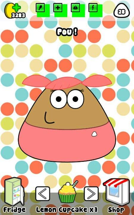 Really cute pou