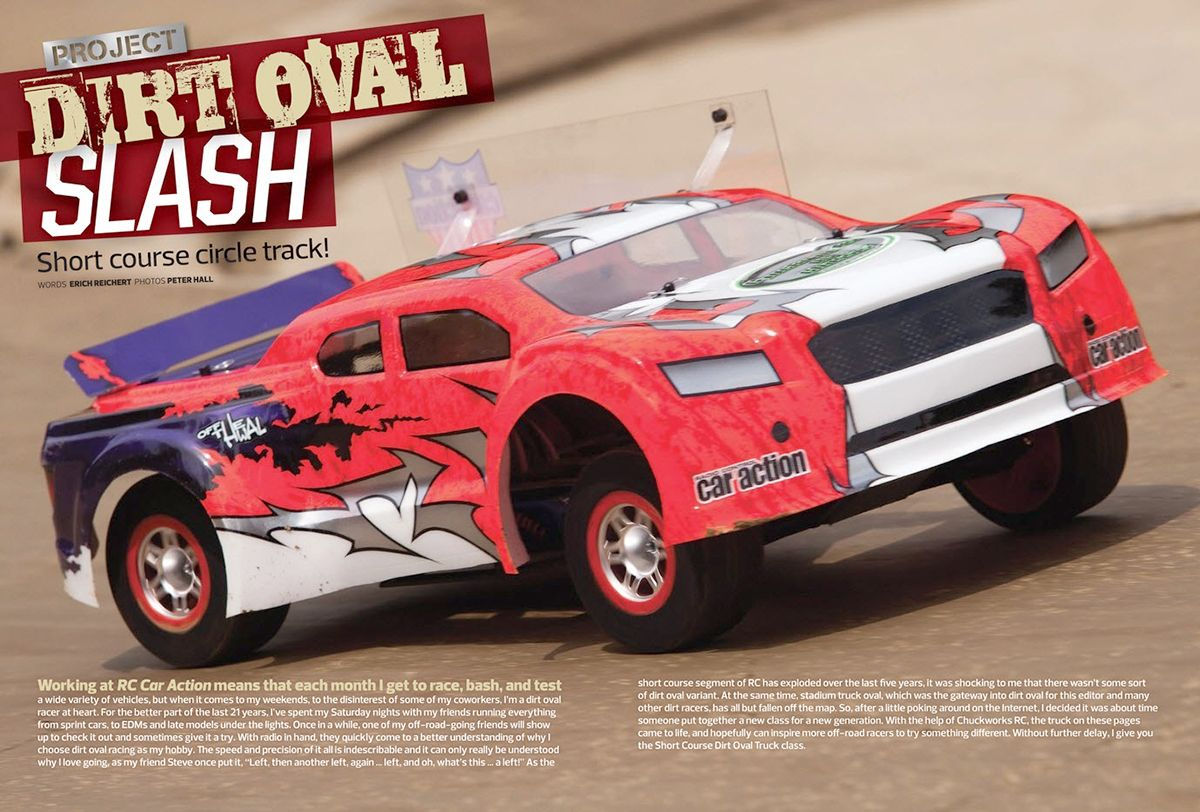 Traxxas Slash Dirt Oval Project  | RC Vehicles