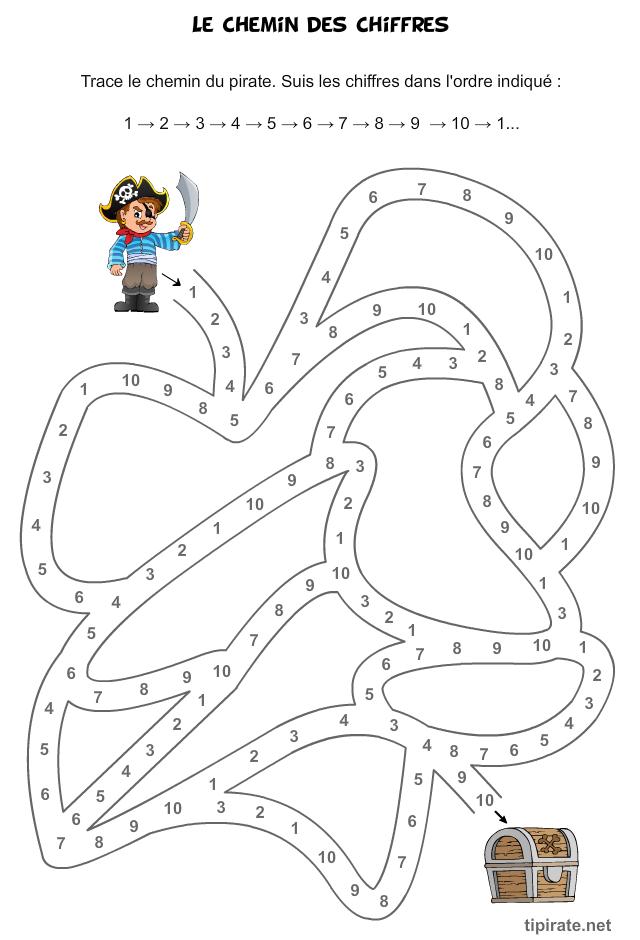 Populaire Le chemin des chiffres | Apprentissages - Nombres | Pinterest | Le  BC93