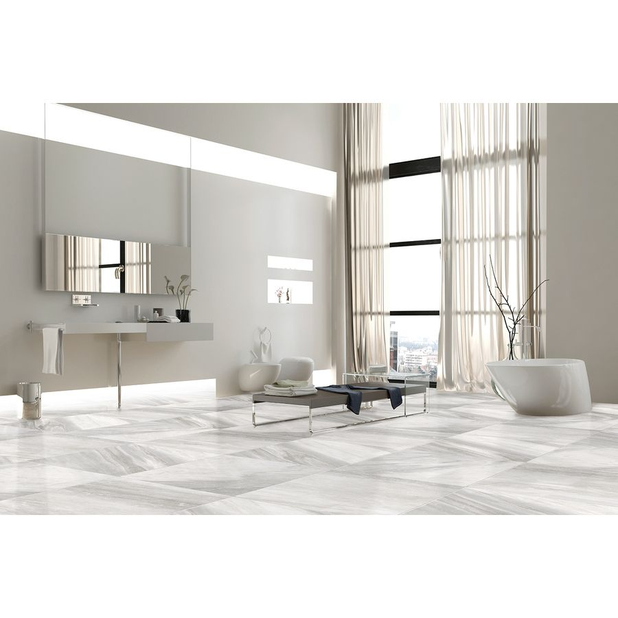 Shop Style Selections Sovereign Stone Pearl Glazed Porcelain ...