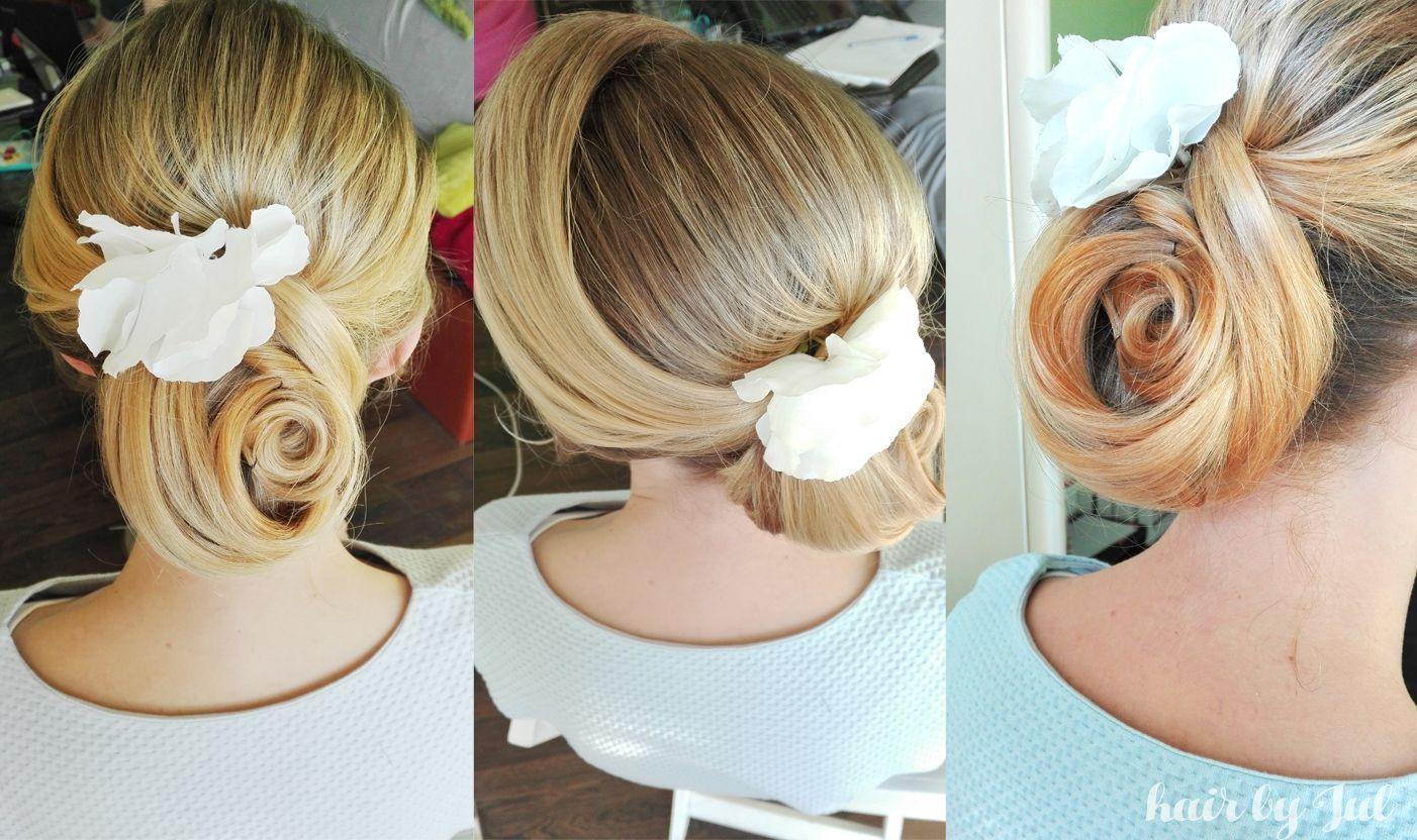 #hairstyle #ideas #bun #chignon #romantic #wedding #hairstyles #hair #blog