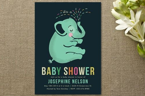 Baby Shower Invitations from MINTED $50 Giveaway {September Sprinkles Mom & Baby Event} US/CAN | Our Knight Life
